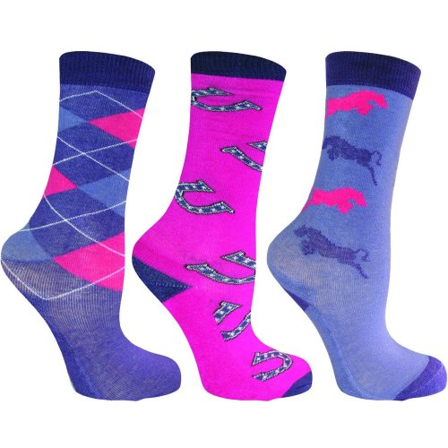 Mark Todd Child Socks - Pack of 3