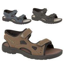 Mens Nigel Velcro Sport Comfort Sandals