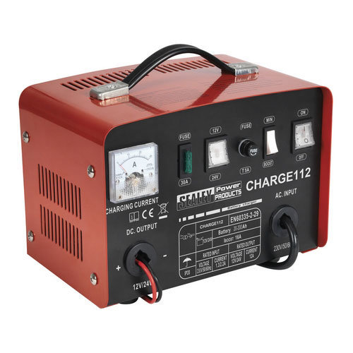 Sealey CHARGE112 16Amp 12/24V Battery Charger