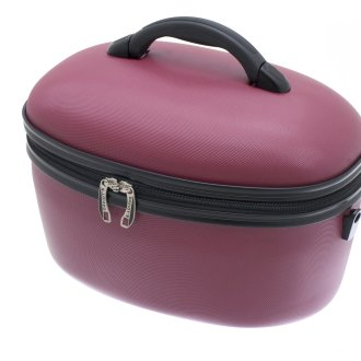 Raspberry Red Vanity / Cosmetic/ Make Up Case