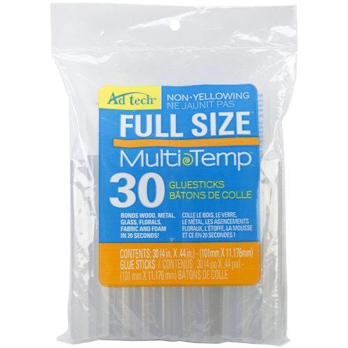 """Multi-Temp Glue Sticks-7/16""""X4"""" 30/Pkg"""