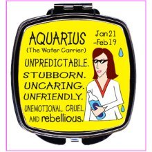 Aquarius Compact Mirror