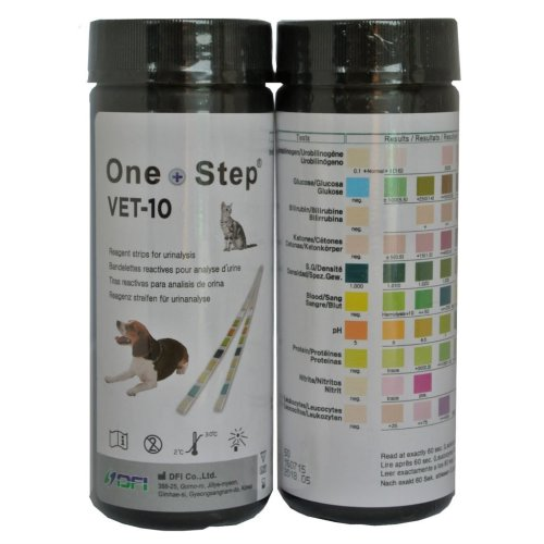 50 x One Step® Vet Urine Test Strips - Veterinary Animal - Cats - Dogs