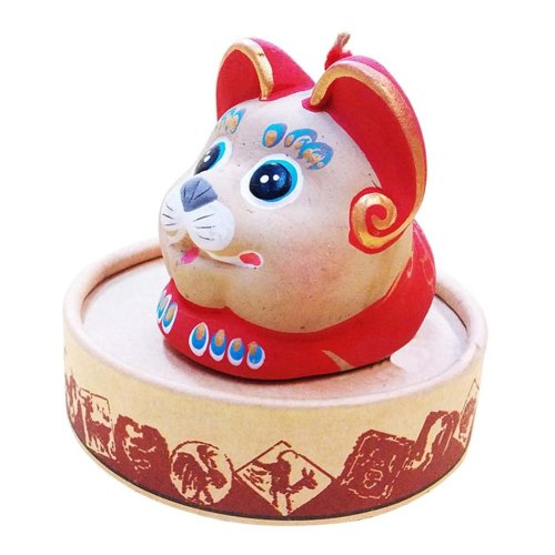 Zodiac Ornaments Clay Chinese Characteristic Toy Figurines Clay Sculpture