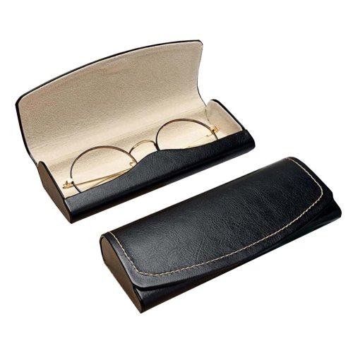PU Leather Eyeglass Case Glasses Storage Case Protective Case for Glasses - 02