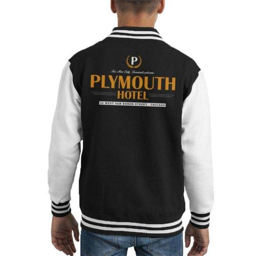 Blues Brothers Plymouth Hotel Kid's Varsity Jacket
