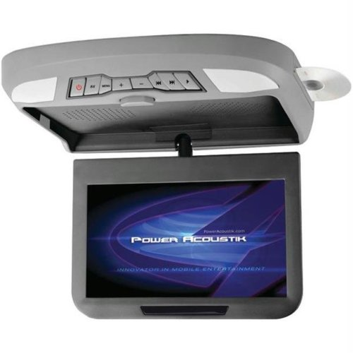 Power Acoustik PMD-102X 10.1 in. Ceiling-Mount Swivel Monitor With Dvd