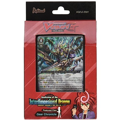 Awakening of the Interdimensional Dragon - Cardfight Vanguard G Gear Chronicle TCG English VGE-G-TD01 Starter Trial Deck - 50 cards