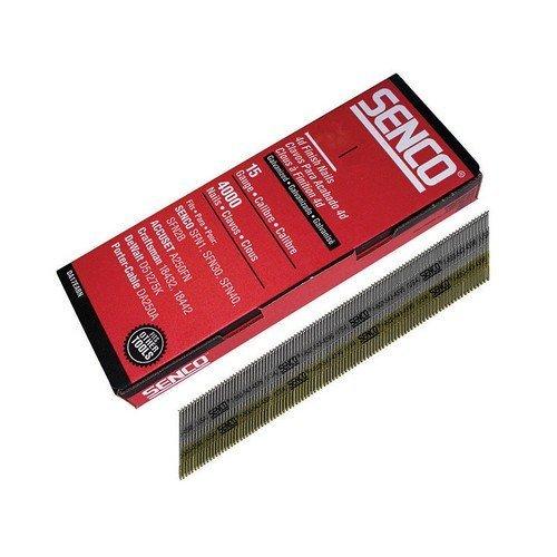 Senco DA21EAB Chisel Smooth Brad Nails Galvanised 15G x 50mm Pack of 4,000