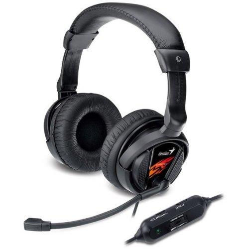Genius HS-G500V Black headset