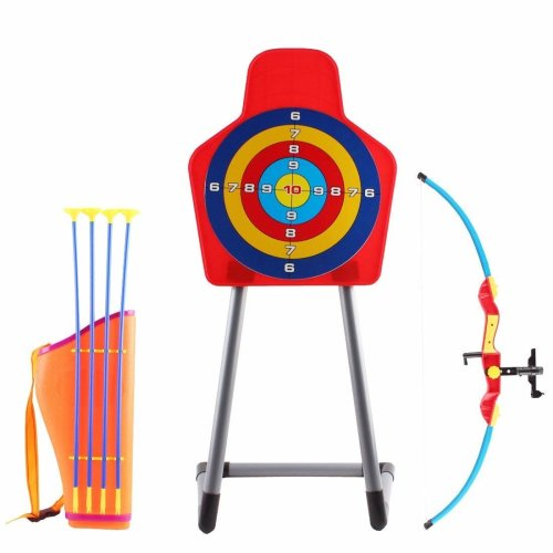 deAO Bow Archery Set with Arrow Holder with Target Stand Outdoor