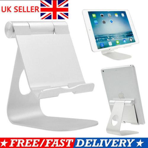 Adjustable Aluminum Phone Tablet Stand Holder Mount Desktop For iPad Air