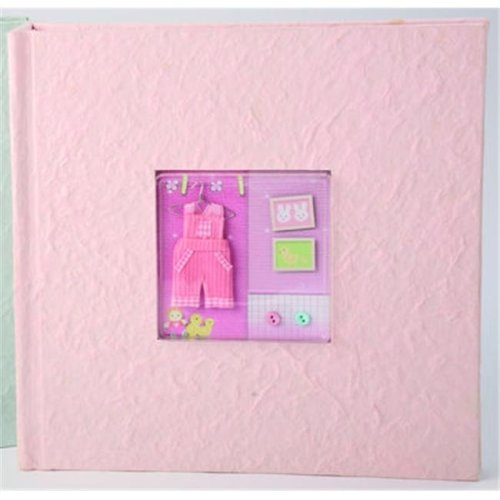Ivy Lane Design 203AG 200 Photo Baby Album - Pink