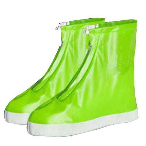 Rain Shoe Cover  Non-slip Wear  Shoe Cover Waterproof [green]