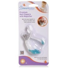 Dreambaby Premium Nail Clippers with Magnifier