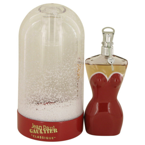 Jean Paul Gaultier Classique Perfume by JPG 100ml Eau De Toilette EDT Spray Classic Collector Edition 2017 Snow Globe