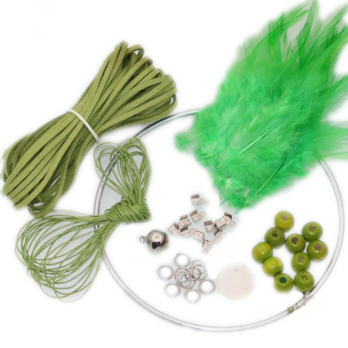 Set of 2 DIY Dream Catcher Craft Kit Meaningful Christmas Gifts by Hand