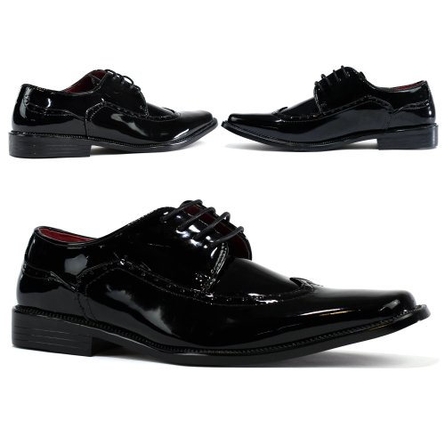 Men's New Brand Brogue Lace Up Office Work Shoe