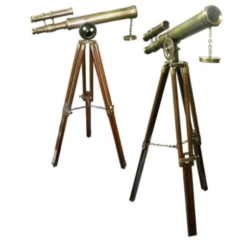 Old Modern Handicrafts ND021 Telescope with Stand- 18 Inch