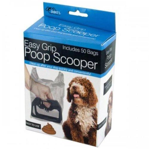 Bulk Buys KL18747 Easy Grip Poop Scooper with Bags