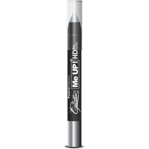 2.5g Silver Me Up! Hd Uv Neon Glitter Paint Stick - Liner Face Body Crayon Up -  paint glitter liner face body crayon up paintglow make silver