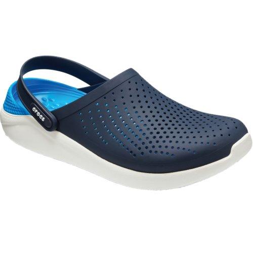 Crocs LiteRide Clog 204592-462 Mens Navy Blue slides Size: 4 UK