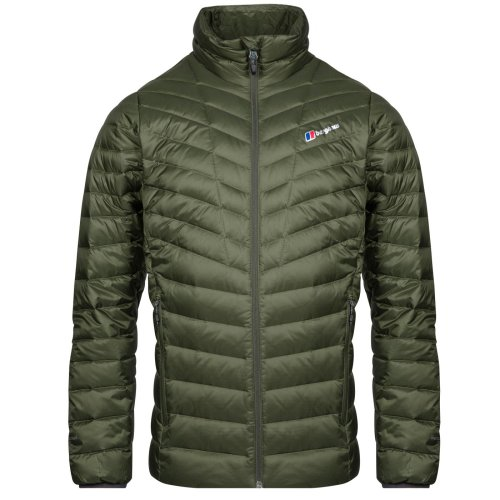 Berghaus Tephra Reflect Down Mens Insulated Outdoor Jacket Green