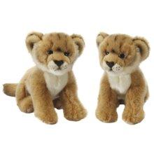Small Lion Cub Soft Toy Animal - 25cm Plush -  lion cub toy 25cm soft plush small