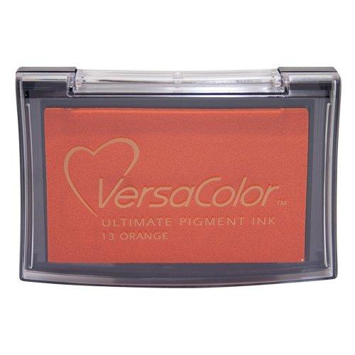 Tsukineko VC013 Versacolor Pigment Ink Pad - Orange