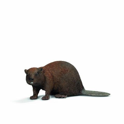 Schleich 14693 Beaver Wild Life Animals Toy Figure Rarity