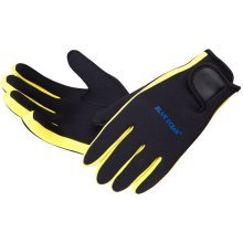 Yellow Professional Diving Gloves Dive Necessary Protective Equipment