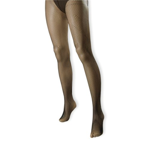 Black Ladies Fishnet Tights -  fishnet tights dress fancy black accessory ladies halloween FISHNET TIGHTS BLACK HALLOWEEN SEXY GLAMOUR VAMP HEN PARTY