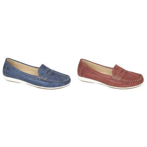 Boulevard Womens/Ladies Apron Saddle Summer Casual Shoes