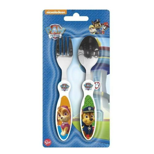 Paw Patrol Fork and Spoon Child's Cutlery Set