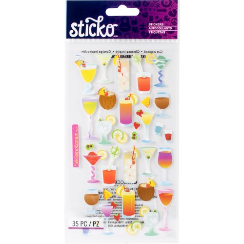 Sticko Stickers-Cocktails