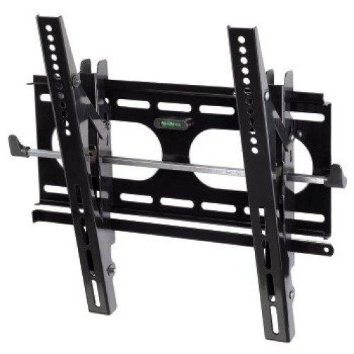 "Hama ""Next Light"" LCD/PL/LED Wall Bracket, VESA 400x400, can be tilted, black Black"