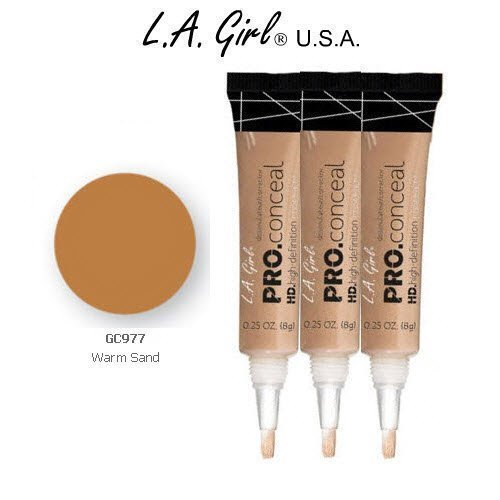L.A. Girl Pro Conceal HD 977 Warm Sand (6 Pack)
