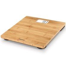Soehnle Bathroom Scales Bamboo 180 kg Brown 63844