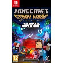 Minecraft Story Mode The Complete Adventure -Game - Nintendo Switch