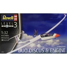 Rv03961 - Revell 1:32 - Glider Duo Discus & Engine
