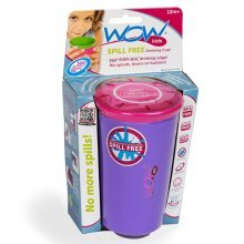 Spill free 360° drinking Cup Purple