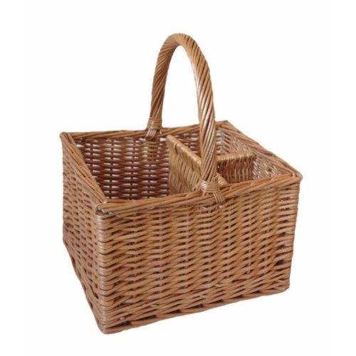 Butchers 2 Bottle Drinks Basket