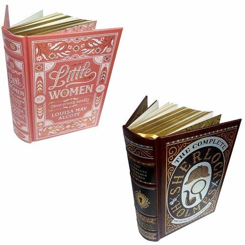 Little Women,Complete Sherlock Holmes 2 Books Set
