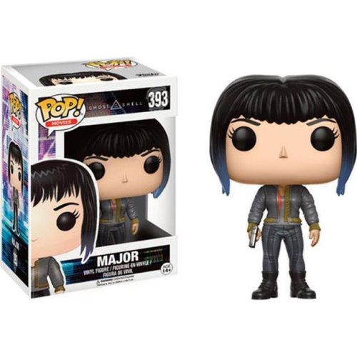 Major with Bomber Jacket (Ghost in the Shell) Limited Edition Funko