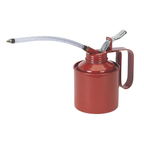 Sealey TP05 500ml Metal Oil Can with Flexible Spout