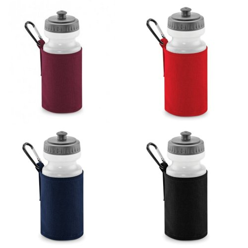 Quadra Water Bottle And Fabric Sleeve Holder (Pack of 2)