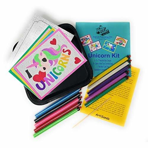 Happy Gross Easy Craft Kits For Girls I Love Unicorns Fun Sand Craft Kit