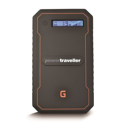 Powertraveller Minigorilla Rugged High-Tech 5V to 19V Charger - Black