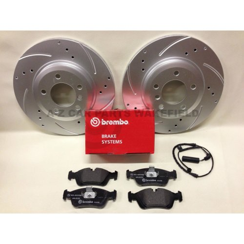 FOR VW TOURAN BRAKE DISC PADS FRONT REAR MINTEX BRAKE DISCS /& PAD