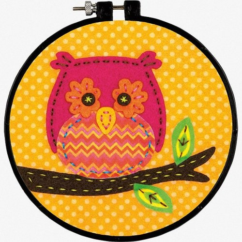 D72-74061 - Dimensions Applique: Little Owl
